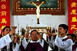 Communist China Catholics continue to sacrifice Christ acceptable to all Catholics