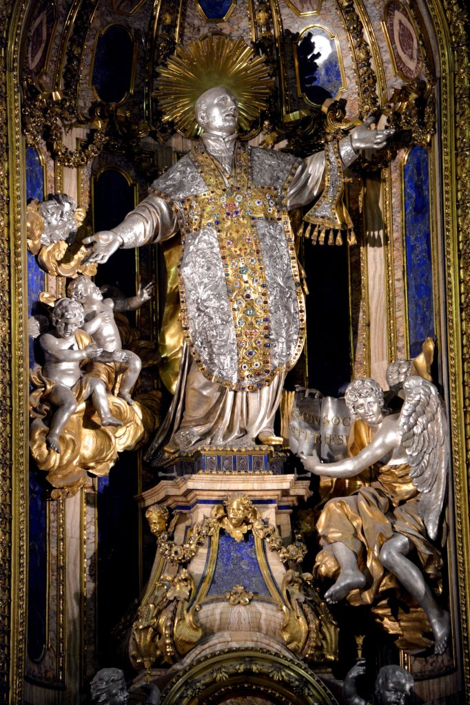 St. Ignatius (Lie always) founder of the spy network for Rome and predecessor to all intelligent agency's. See how much Satan loves him click on him for a larger view.